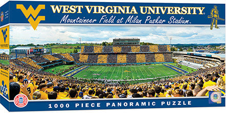 West Virginia Mountaineers 1000 pc Puzzle