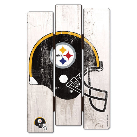 Steelers Fence Wood Sign