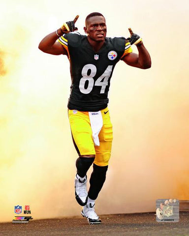 Antonio Brown Game Entrance 8x10 Photo - Unsigned