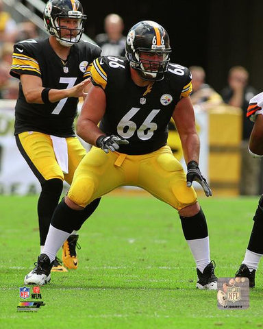 David DeCastro Ready to Black UNSIGNED 8x10 Photo