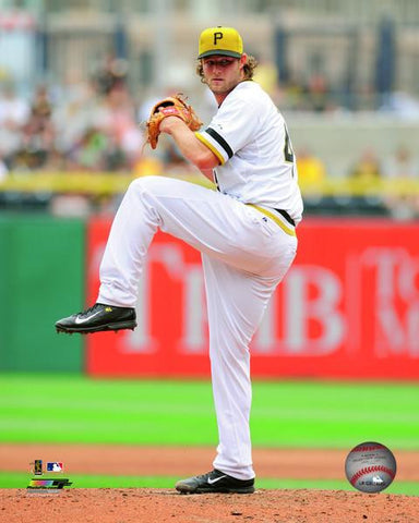 Gerrit Cole Preparing to Throw Pitch 8x10 - Unsigned