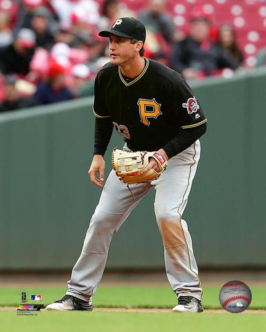 David Freese Fielding in Black 8x10 - Unsigned