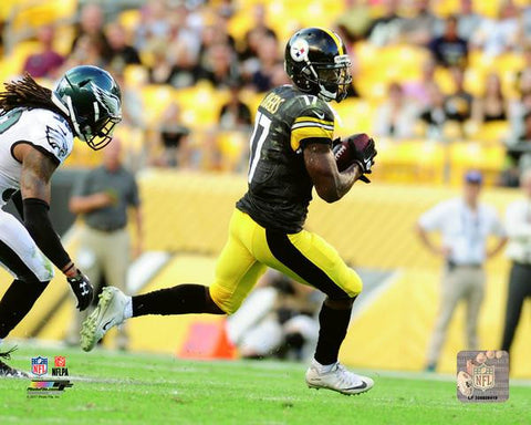 Eli Rogers Running Vs. Eagles Unsigned 8x10 Photo
