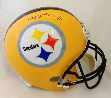Antonio Brown Autographed Steelers 75th Anniversary Authentic Full-Size Helmet