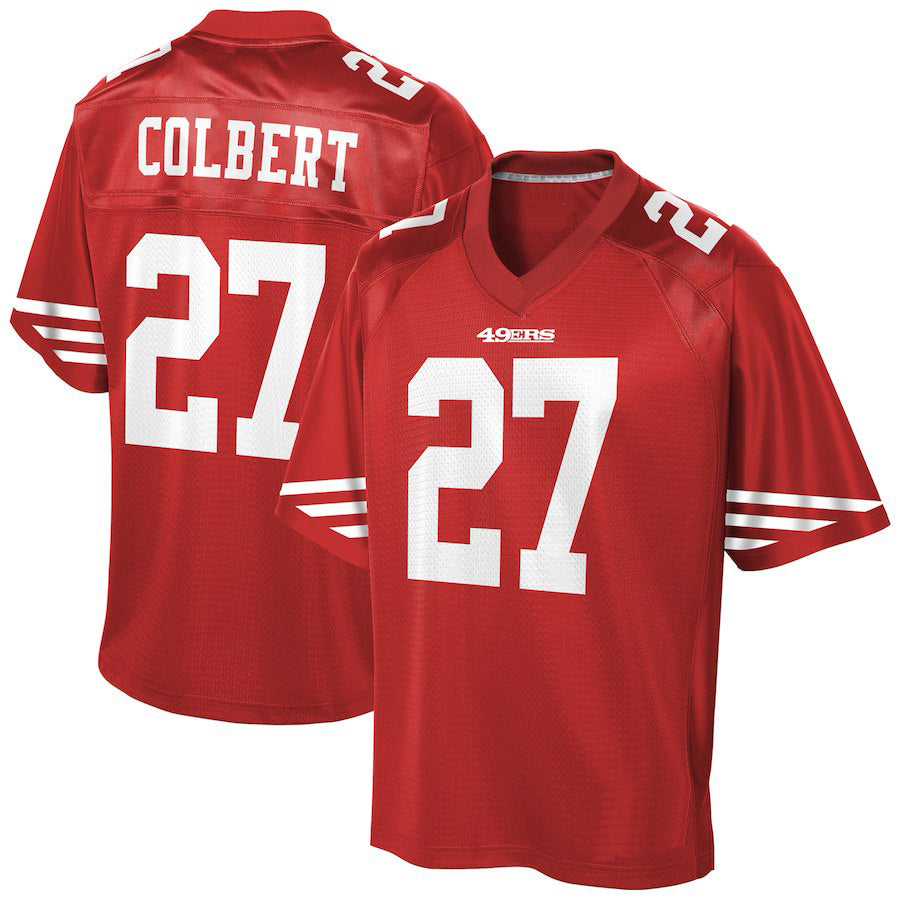 PRE-SALE: Adrian Colbert Signed Custom New #27 Red Jersey