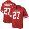 Image of PRE-SALE: Adrian Colbert Signed Custom New #27 Red Jersey