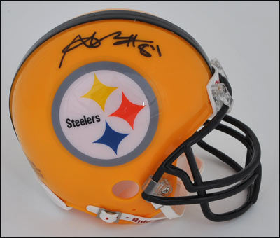 Antonio Brown Autographed Pittsburgh Steelers 75th Anniversary Mini Helmet