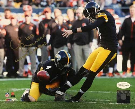 Chris Boswell 8x10 Photo B - Signed with Wizard of Oz
