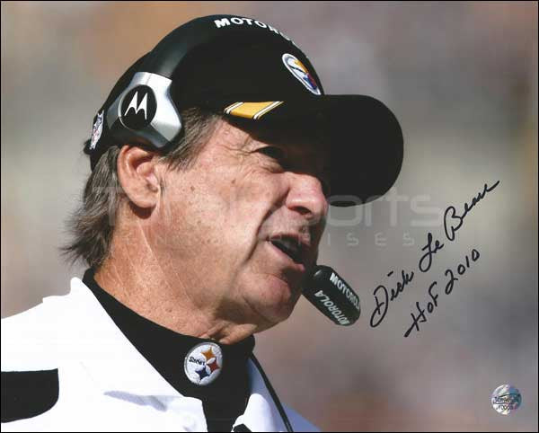 Dick LeBeau Signed 16x20 Photo inscribed HOF 2010