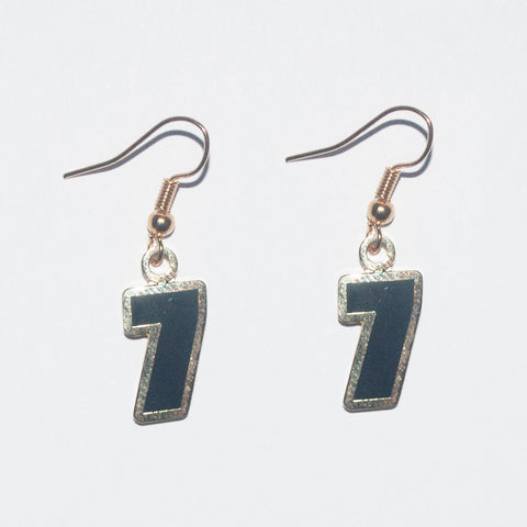 Steelers #7 Ben R. Earrings