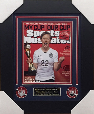 Meghan Klingenberg FRAMED On Ground 8x10 Photo - Unsigned
