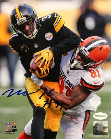 Mike Hilton Signed Vs. Cleveland Browns 8x10 Photo