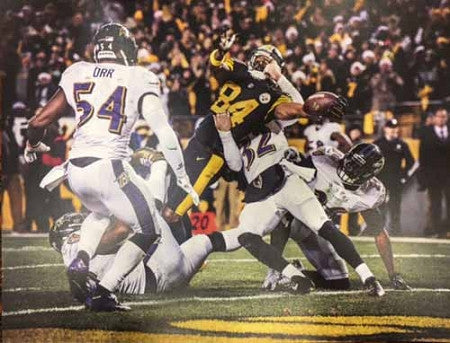 Antonio Brown TD Extension 8x10 Photo - Signed