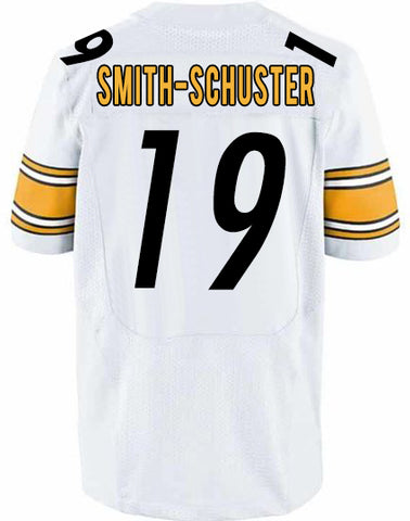 PRE-SALE: JuJu Smith-Schuster Signed Custom White Jersey