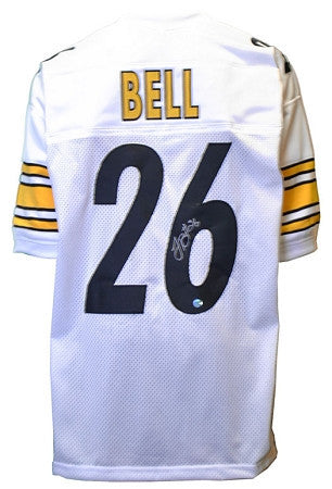 Le'Veon Bell Autographed Pittsburgh Steelers White #26 Custom Jersey