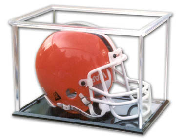Mini Helmet Plastic Display Case