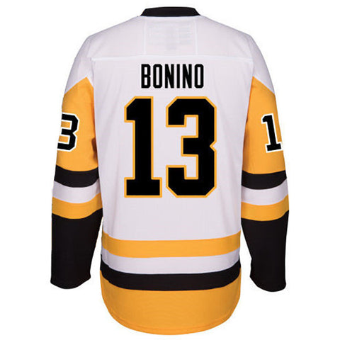 Nick Bonino Autographed Pittsburgh Penguins White Jersey