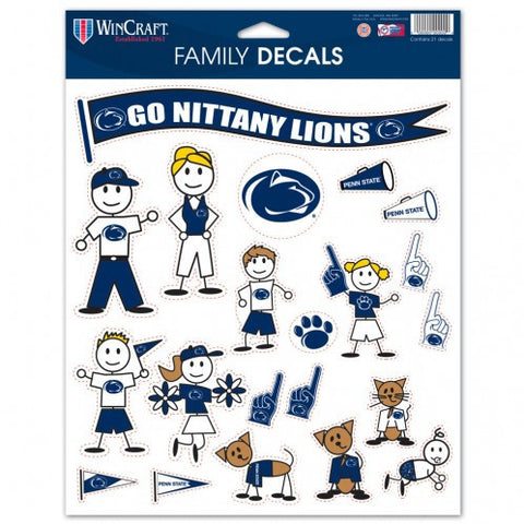 Penn State University Family Decals