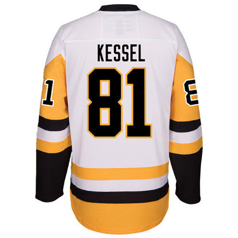PRE-SALE: Phil Kessel Signed Custom White/Gold Hockey Jersey