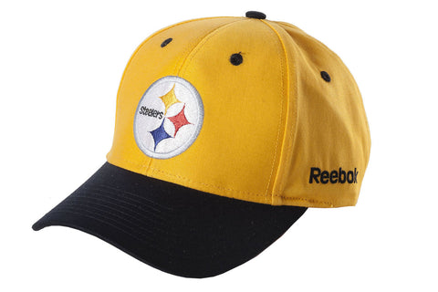 Steelers Black/Gold Knit Cap - Black Brim