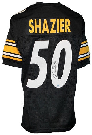 Ryan Shazier Autographed Pittsburgh Steelers Black #50 Home Custom Jersey