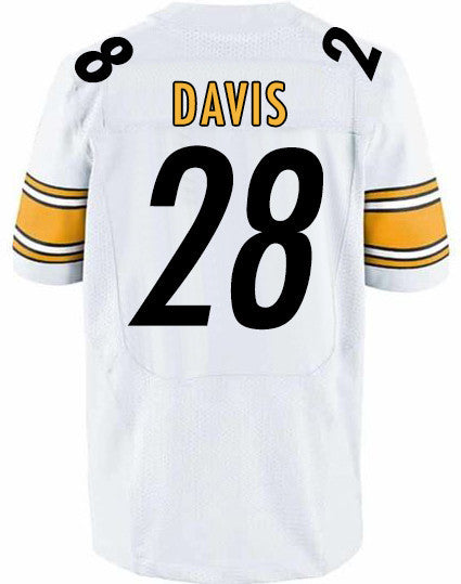 PRE-SALE: Sean Davis Signed Steelers Custom Authentic-Style White Jersey