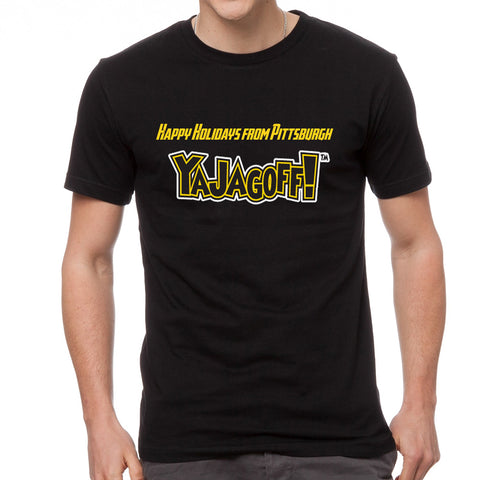 Happy Holidays from Pittsburgh - Ya Jagoff T-Shirt