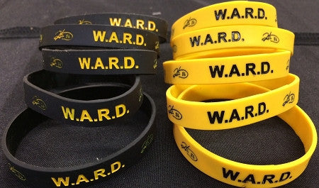 (10) Ward Bands 5 - Black and 5 Gold