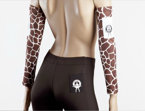 Moeben Leopard Fleece UV Protection Arm Sleeve
