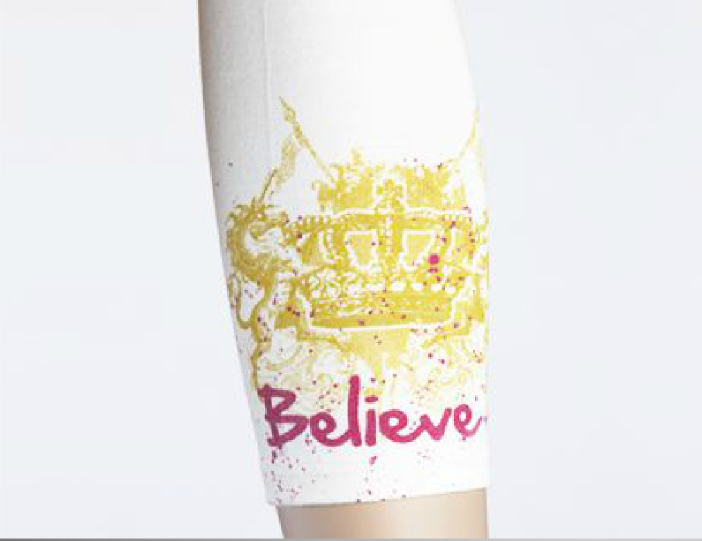 Moeben Bamboo Arm Sleeve Believe
