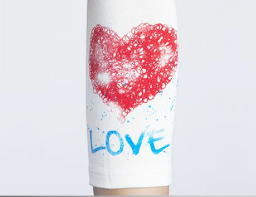 Moeben Bamboo Arm Sleeve Love