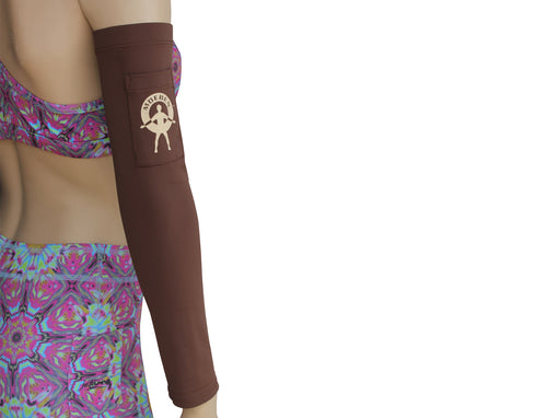Moeben Cocoa Brown UV Protection Arm Sleeve