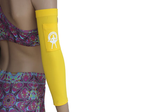 Moeben Plaid Fleece UV Protection Arm Sleeve