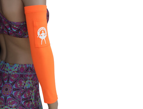Moeben Butterfly Print UV Protection Arm Sleeve