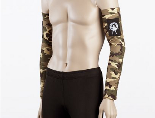 Moeben Camouflage Fleece UV Protection Arm Sleeve