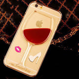 iPhone Red Wine Case