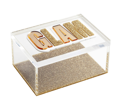 Glam Rectangular Box