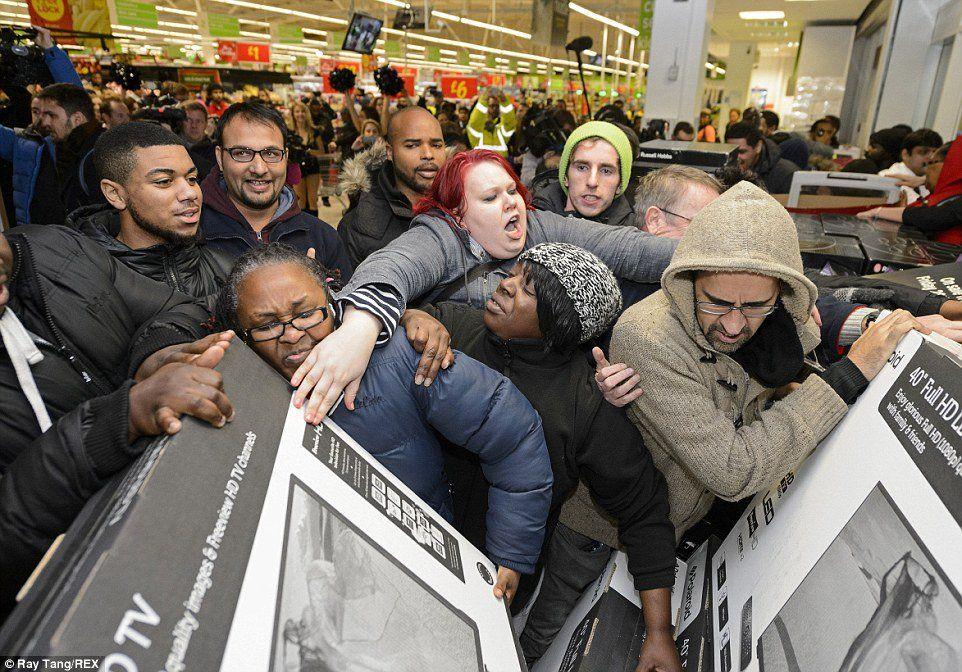 The Harm of Black Friday Shopping