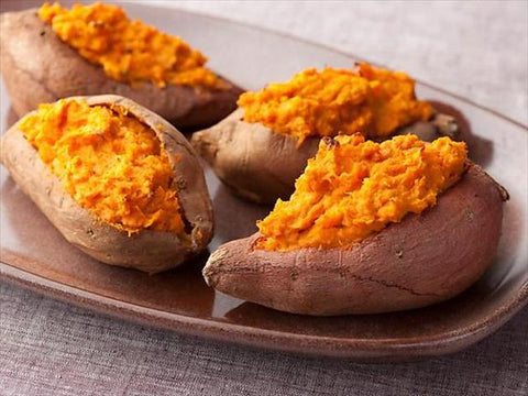 sweet potato carotenoids sun protection