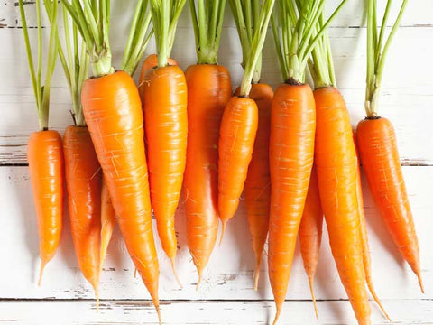 carrots to protect from sun exposure