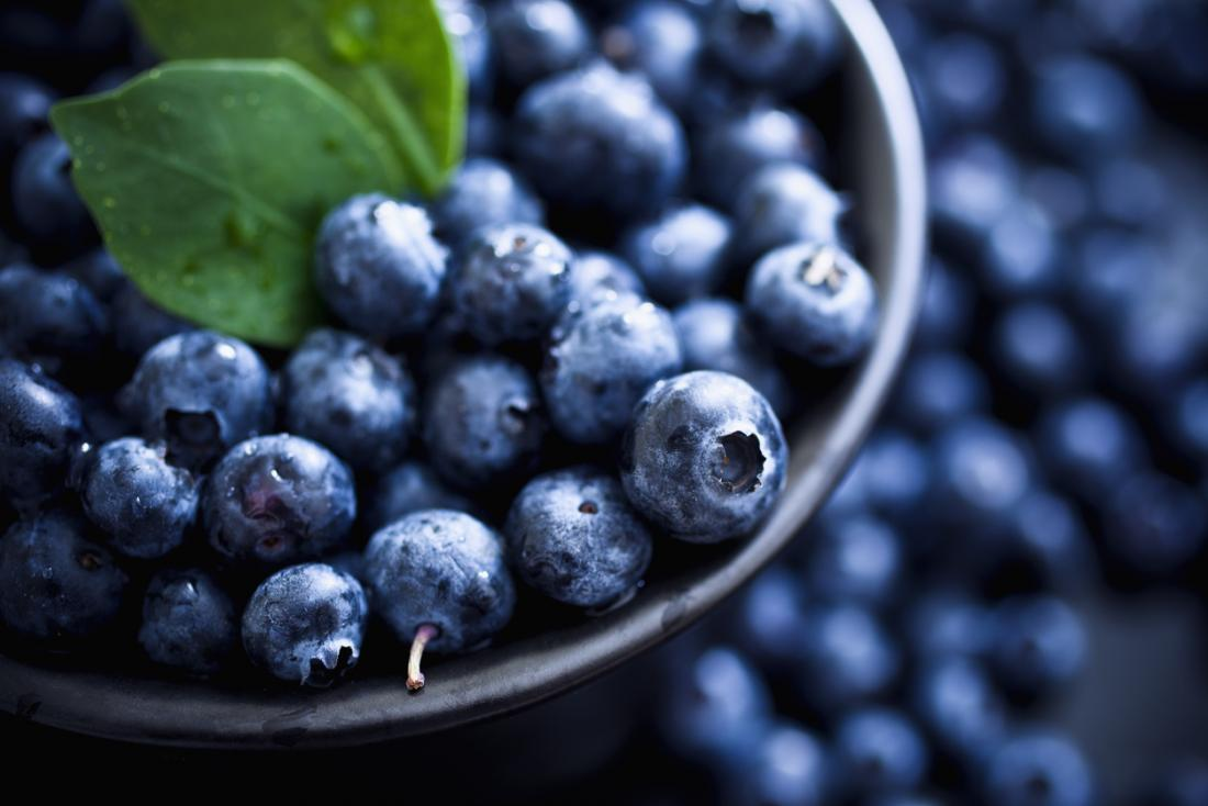 blueberries antioxidants