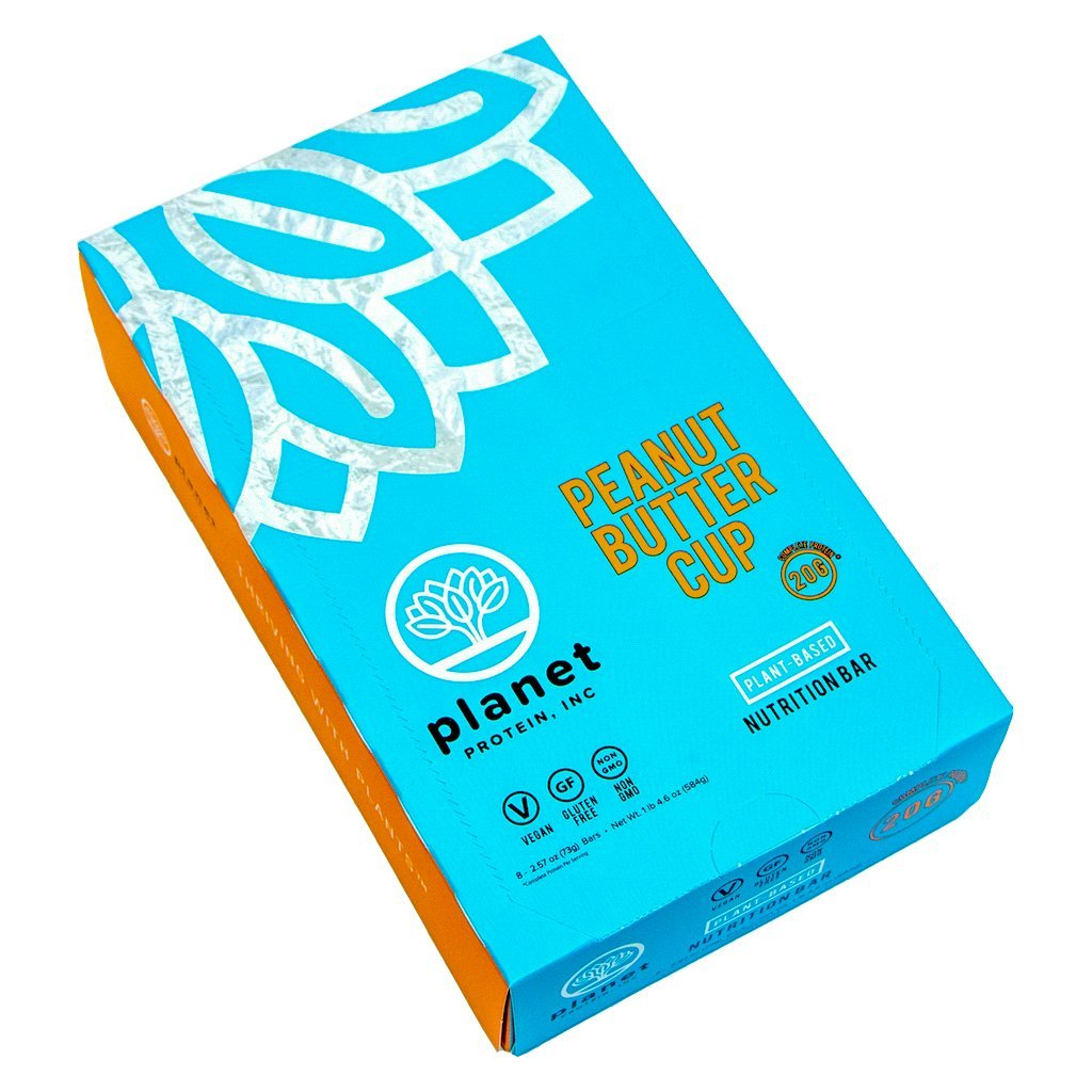 Planet Protein peanut butter cup box