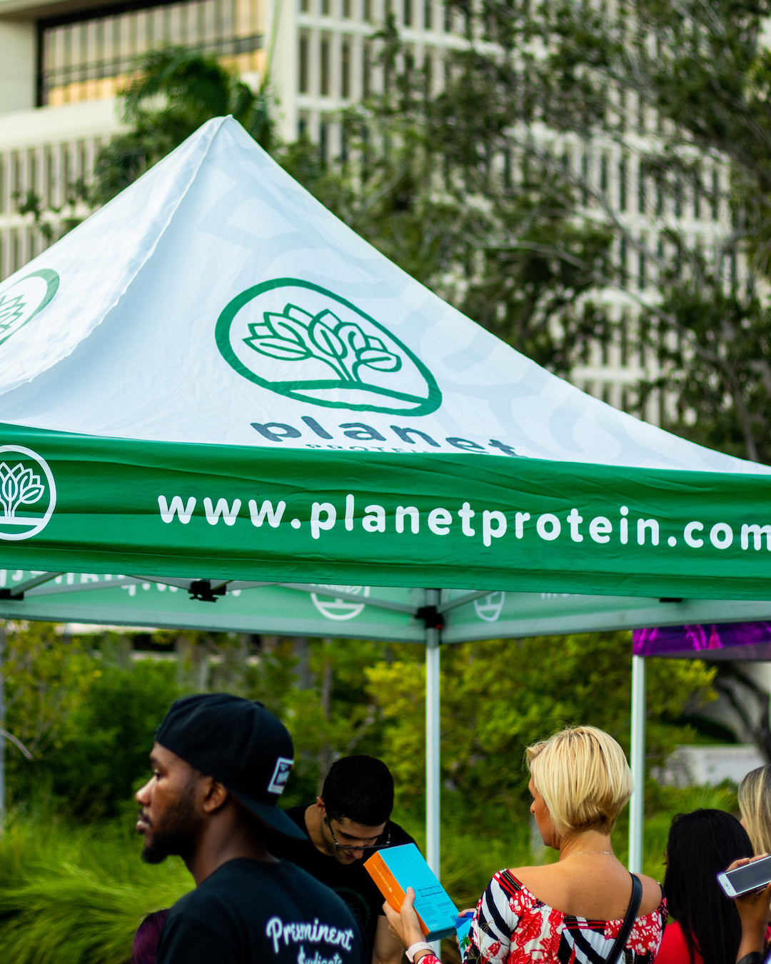 Planet Protein live at Vegfest