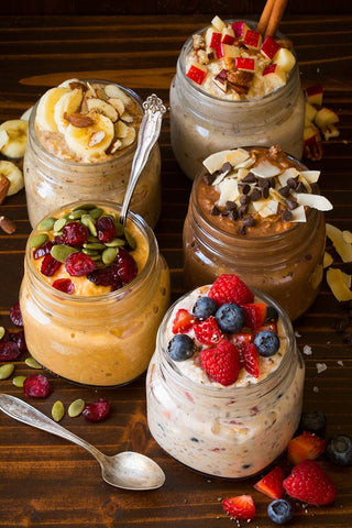 vegan nutrition overnight oats