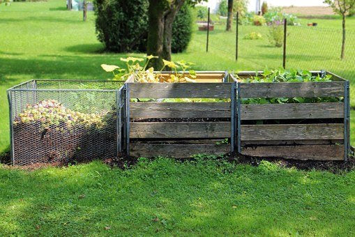 composting, compost, green material, nitrogen rich material, biodegradable
