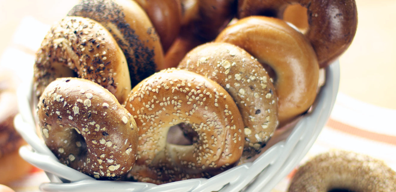 New York Bagels - Hand Rolled + Shipped Overnight
