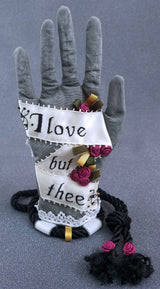 Heart in Hand Love Token Reticules