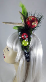 Grinch & Antler Fascinator