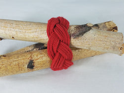 Scarlet Red Lucet Cord Multi Twist Bracelet
