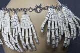 Skele Hand Ornaments of Bones Collar